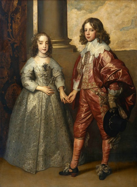 Anthony van Dyck William II Prince of Orange and Princess Henrietta Mary Stuart daughter of Charles I of England